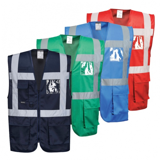 Portwest F476 Iona Hi-Vis Executive Vest