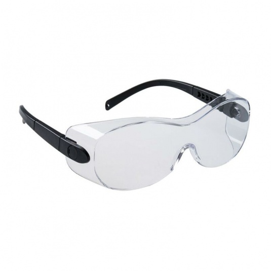 Portwest Over-Spectacle Clear Safety Glasses PS30CLR