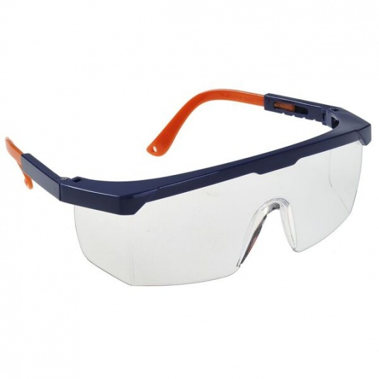 Portwest Eye Screen Plus Clear Safety Glasses PS33CLR