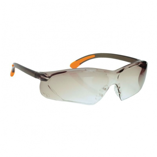 Portwest Fossa Smoke Lens Safety Glasses PW15SKR