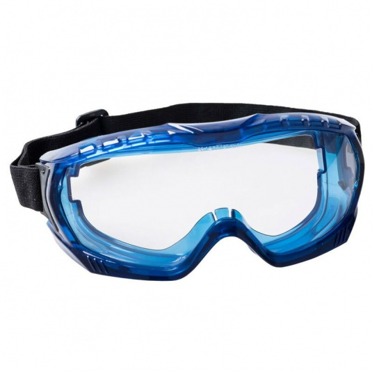 Portwest Ultra Vista Unvented Clear Safety Goggles PW25CLR