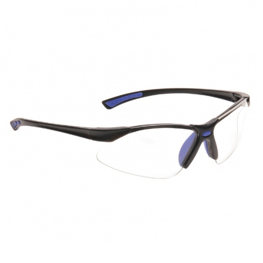 Portwest PW37 Bold Pro Blue Safety Glasses