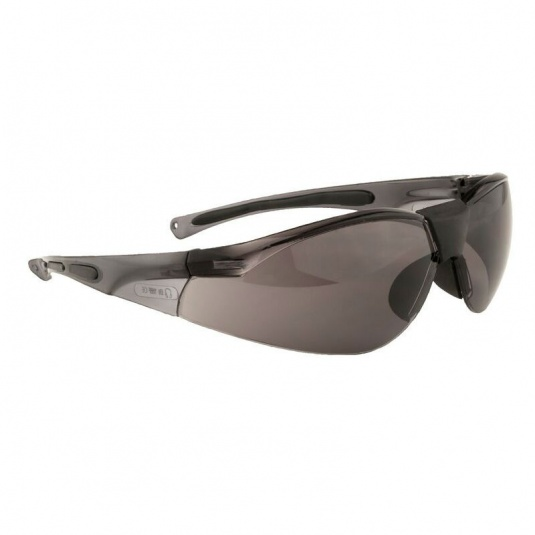 Portwest Lucent Smoke Lens Safety Glasses PW39SKR