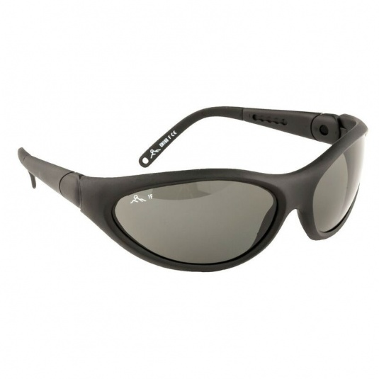 Portwest Smoke Lens Umbra Polarised Safety Glasses PW18SKR