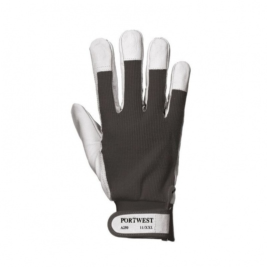 Portwest Tergsus Black Leather Gloves A250BK