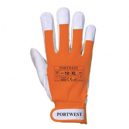 Portwest Tergsus A251OR Microfibre All-Round Orange Gloves