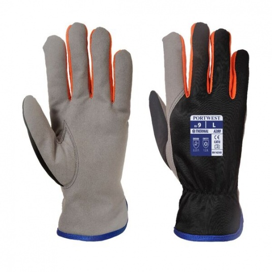 Portwest Wintershield Thermal Fleece-Lined Gloves A280