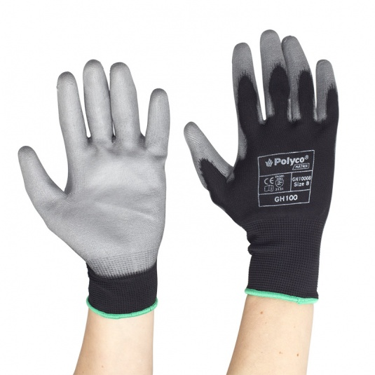 Polyco Matrix GH100 Palm-Coated Work Gloves