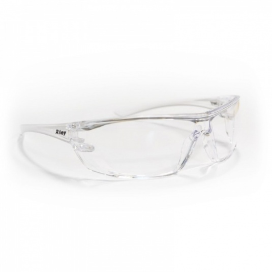 Riley Fresna Polycarbonate Anti-Scratch Clear Safety Glasses RLY00071
