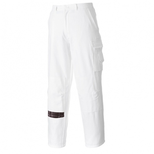 Portwest S817 White Painters Trousers