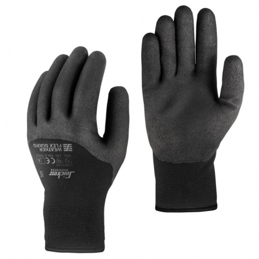 Snickers Thermal Wet Flex Guard Gloves 9325
