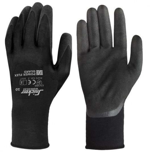 Snickers Power Flex Guard Oil-Resistant Grip Gloves 9327