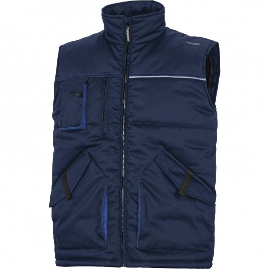 Delta Plus STOCKTON2 Thermal Mach Navy Bodywarmer