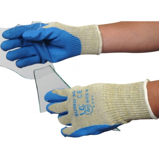 Sumo Textured Latex Coated Gloves X5-Sumo