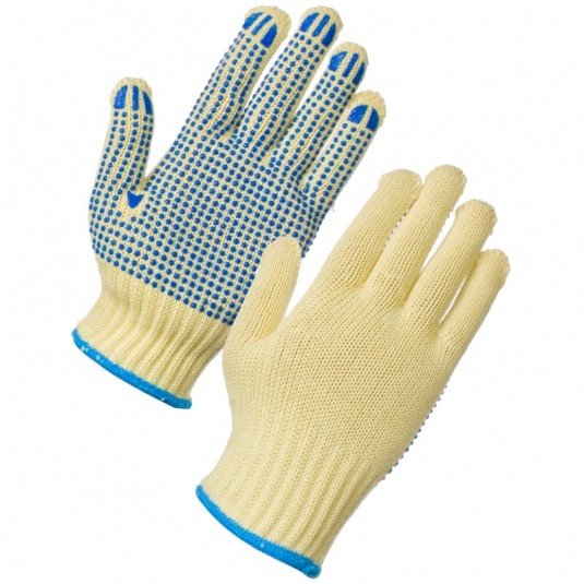 Supertouch Kevlar PVC Dot Gloves 10 Gauge 2717