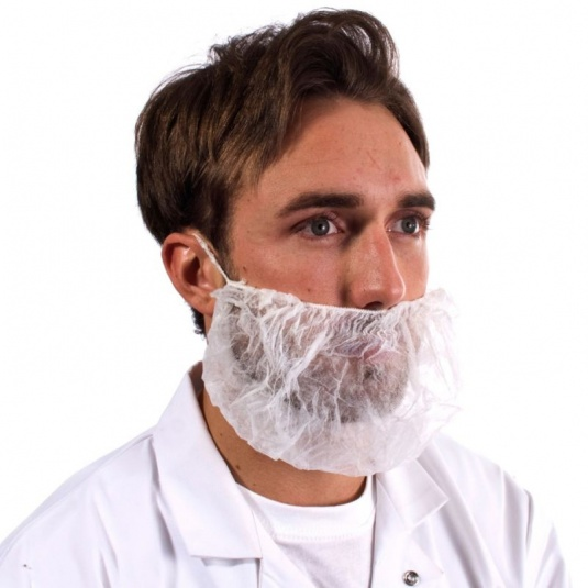 Supertouch Disposable Non-Woven Beard Mask (Pack of 100)