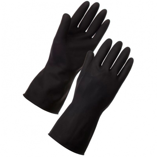 Supertouch Heavyweight Latex Cleaning Gloves 1327