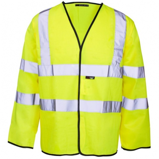Supertouch Hi-Vis Long Sleeved Vest