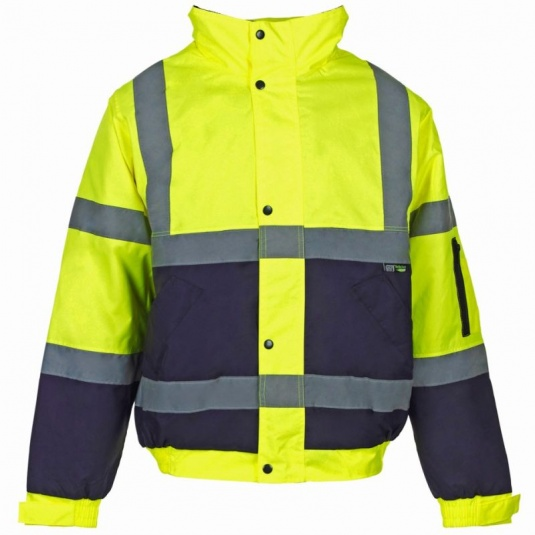 Supertouch Hi-Vis Two Tone Bomber Jacket (Pack of 10)