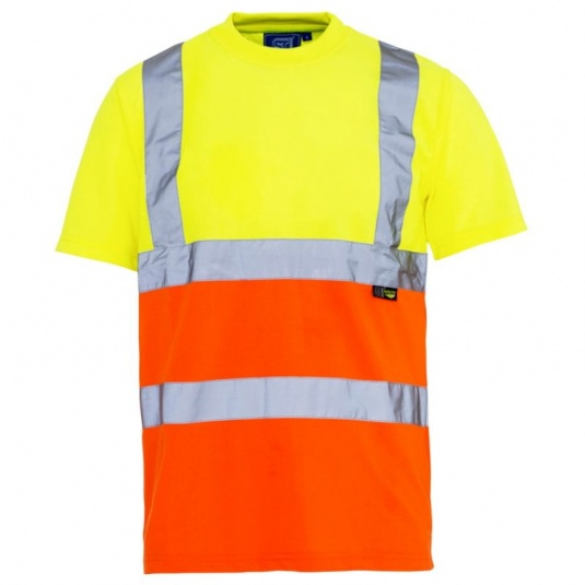 Supertouch Hi-Vis Two-Tone T-Shirt (Case of 20)