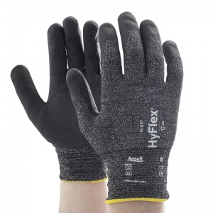 Ansell HyFlex 11-531 Abrasion-Resistant Grip Gloves