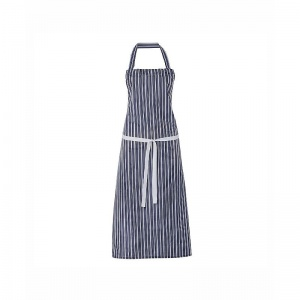Alexandra Workwear Waterproof PU Coated Striped Bib Apron