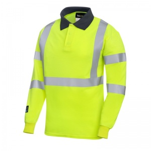 ProGARM 5286 Hi-Vis Yellow Arc Flash Polo Shirt