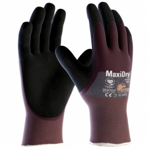 MaxiDry 3/4 Coated Oil Repellent Gloves 56-425 (Pack of 12 Pairs)
