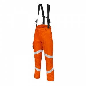 ProGARM 9622 Lightweight Arc Flash FR Hi-Vis Orange Salopettes