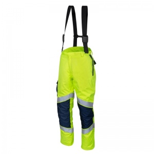 ProGARM 9820 Lightweight Arc Flash FR Hi-Vis Yellow Salopettes