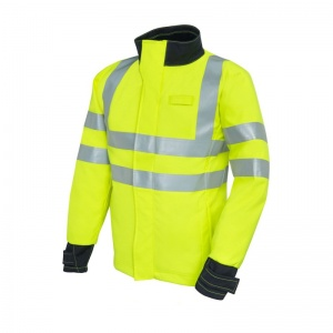 ProGARM 9930 FR Waterproof Hi Vis Yellow Softshell Jacket
