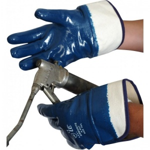 Armanite A827 Heavyweight Nitrile-Coated Gloves with Safety Cuff