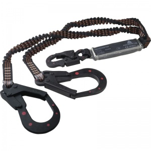 Delta Plus AN245200PRR 2m Lanyard and Fall Arrest Energy Absorber