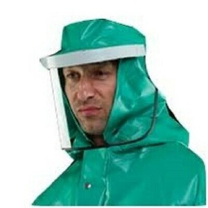 Alpha Solway Chemmaster Splash Hood, Neck Cape and Visor