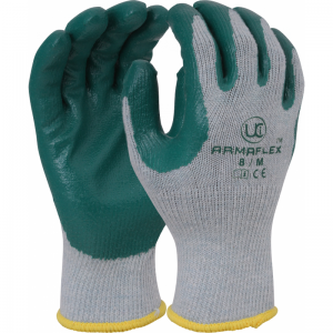 UCi ArmaFlex Polycotton Nitrile Palm-Coated Grip Gloves