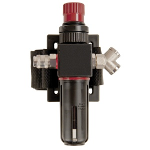 JSP Avenger Air Fed Respirator Air Flow Regulator and Cartridge