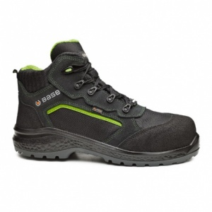 Portwest Base Be-Powerful Top Black and Green Safety Boots B0898