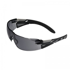 JSP Eiger Grey Frame Smoke Lens Safety Glasses