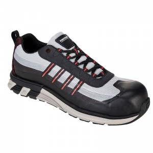 Portwest FT16 OlymFlex London Black/White SBP AE Work Trainers