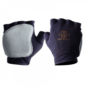 Impacto 502-10 Fingerless Anti-Vibration Tool Grip Gloves