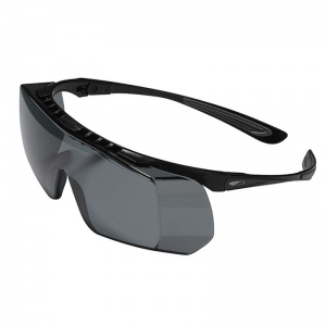 JSP Coverlite Smoke-Tinted Overspecs Glasses
