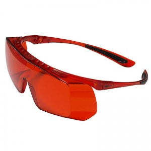 JSP Coverlite UV Orange Overspecs Glasses