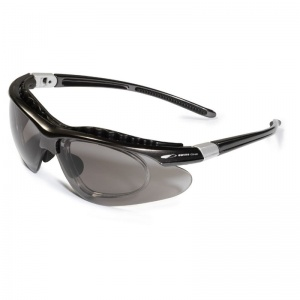 JSP Equinox Bronze Prescription Insert Smoke Lens Safety Glasses