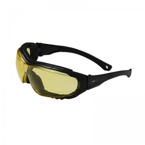 JSP Explorer 2 Amber Tinted Anti-Fog/Scratch Safety Glasses