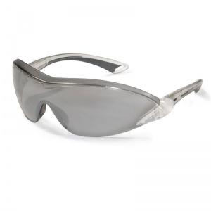JSP Falcon Silver Anti-Scratch Frameless Safety Glasses