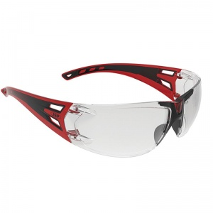 JSP ForceFlex 3 Black/Red Flexible Glasses