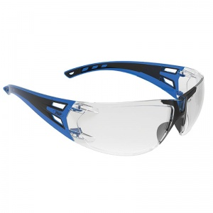 JSP ForceFlex 3 Blue/Black Premiershield Glasses