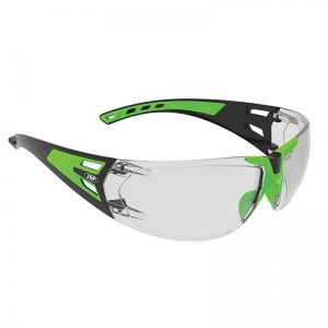 JSP ForceFlex 3 Green/Black Premiershield Glasses