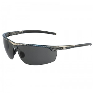 JSP Leone Carbon Style Polarised Smoke Lens Safety Glasses
