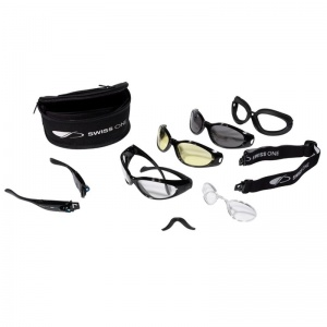 JSP Matrix Eyewear Kit with Clear, Amber and Smoke Lenses